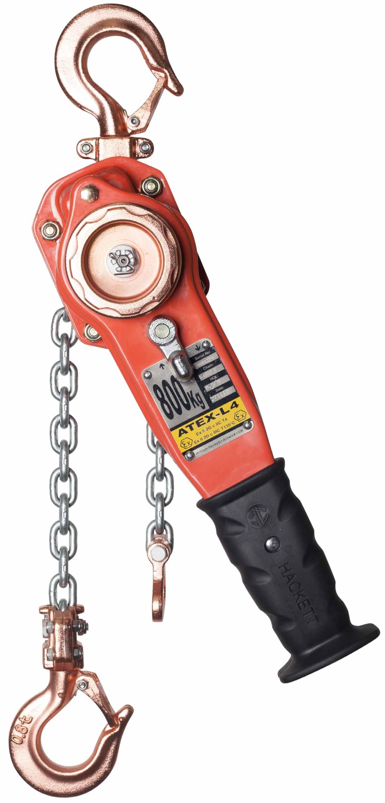 ATEX-L4 Lever Hoist - Manual Hoisting - Lifting & Hoisting - William
