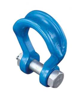 Forged Alloy Wide Body Shackle - type 809 with Bolt Pin