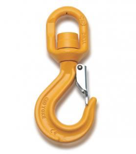Yoke Grade 8 Swivel Sling Hook with Ball Bearing BS EN1677-1+2