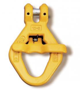 Yoke Grade 8 Clevis Skip Hook with Spring Gate BS EN 1677-1+2