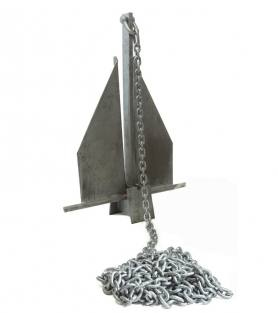 Calibrated Galvanized Anchor Chain DIN766 / ISO4565