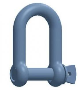 Commercial Dee Shackle - Screw Pin
