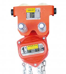 ATEX-C4 Combined Chain Hoist and Trolleys