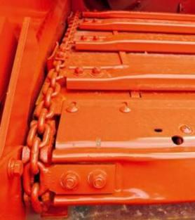 Rear Discharge Muck Spreader Chain