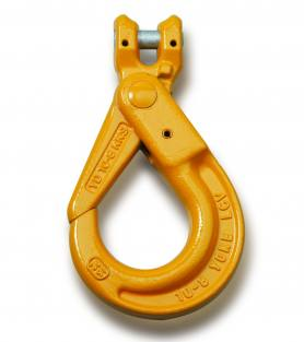 Yoke Grade 8 Clevis Self Locking Hook BS EN 1677-1+2